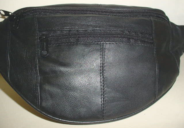 LEATHER WAIST POUCH S Pouch